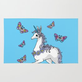 Cute Unicorn Rug