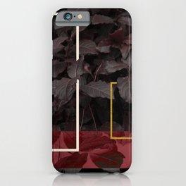 Burgundy Fall #society6 #decor #buyart iPhone Case
