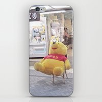 winnie the pooh iPhone & iPod Skins featuring Winnie the Pooh in Japan by somethere
