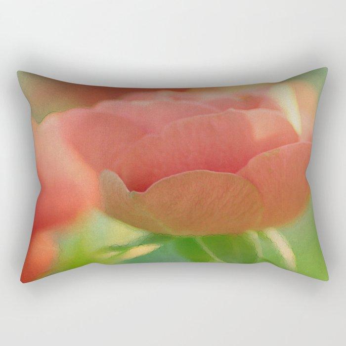 Romantic rose(5) Rectangular Pillow