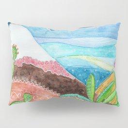 Etna Vulcan Sicily Pillow Sham