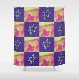 Checkmate Shower Curtain