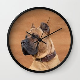 Perro de Presa Canario Wall Clock