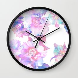 Le Fluer Pastel Wall Clock