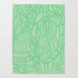 green billows Poster