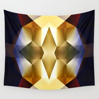 pear Wall Tapestries featuring Pear by Cs025
