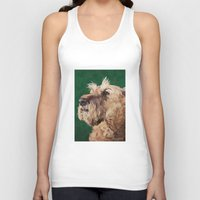 irish Tank Tops featuring Irish terrier by Carl Conway