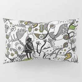 Amoeba World Pillow Sham