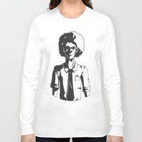 afro Long Sleeve T-shirts featuring AFRO by LeoVarg