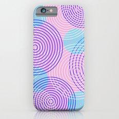 krugovi (pink) Slim Case iPhone 6s