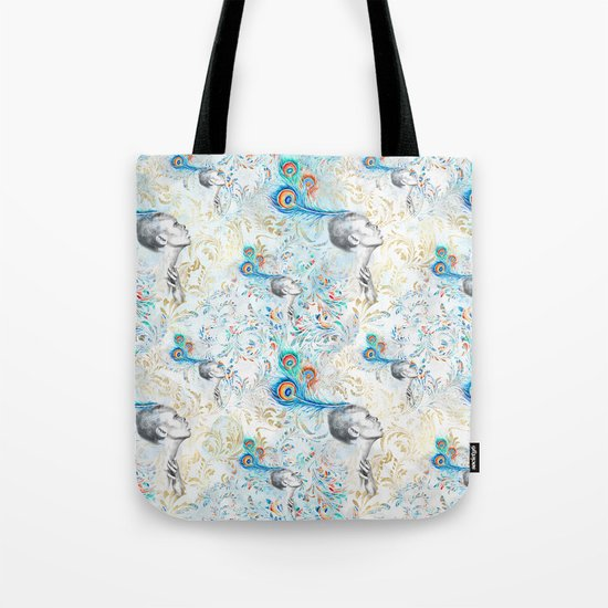 Feather peacock #14 Tote Bag