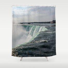 Water waterfall 5 Shower Curtain
