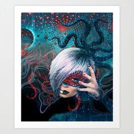 Darina Frein - Spiritual Practician Art Print