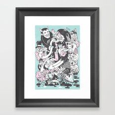 Deadly Sins Framed Art Print