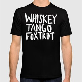Whiskey Tango Foxtrot x WTF T-shirt