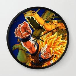 super saiyan Wall Clock