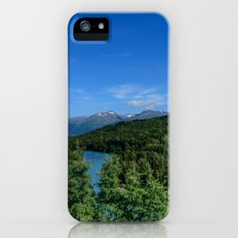 Cooper_Landing 4158, Kenai Peninsula, Alaska iPhone Case