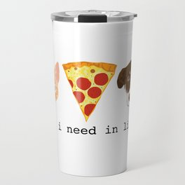 The Pizza Pets Travel Mug