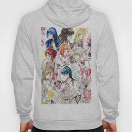 Love Live Sunshine Valentines Day Outfits Hoody