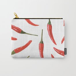 Red chili peppers. Carry-All Pouch