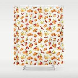 Bunches of Fruit Shower Curtain