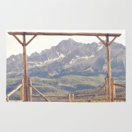 Western Mountain Ranch Rug