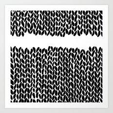 Missing Knit Art Print