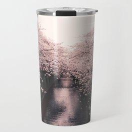 Cherry Blossom Lane Travel Mug