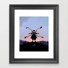 Doc Ock Kid Framed Art Print