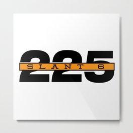 225 Slant Six Badge Metal Print