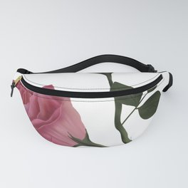 Mystical Maroon Rose Fanny Pack