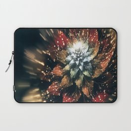 3D Color Flower V3 Laptop Sleeve