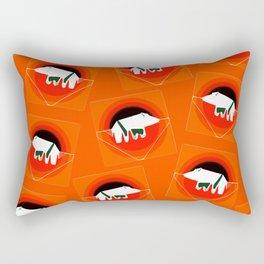 Wild Boar. Rectangular Pillow