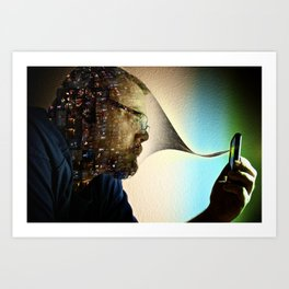 Absorbed Art Print