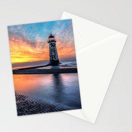 Lighthouse Sunset Stationery Cards