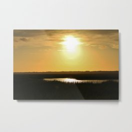 Rays Of Sun Metal Print