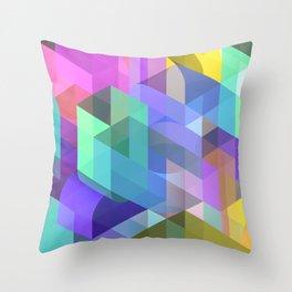 Boron Nitride Throw Pillow