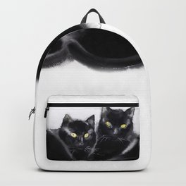 Cats together Backpack