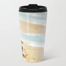 Lonely gull of summer. Travel Mug