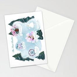 Noelle's Nook. Readathon Map Stationery Cards