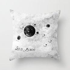 Solis Mundo II Throw Pillow