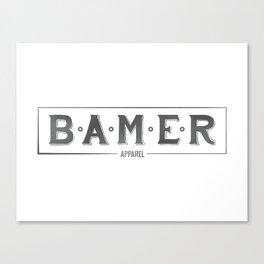 Bamer Original Canvas Print