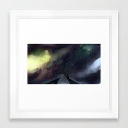 Fishing For Substance Framed Art Print
