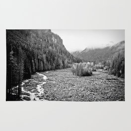 Mountain Valley B&W Rug
