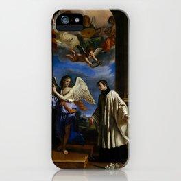 The Vocation of Saint Aloysius (Luigi) Gonzaga,ca. 1650 iPhone Case