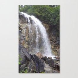 White Pass Waterfall Canvas Print