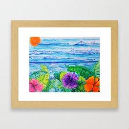 Lanai View Framed Art Print