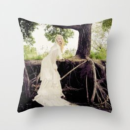 The Water's Bride Throw Pillow
