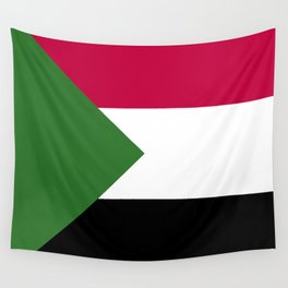 Sudan flag emblem Wall Tapestry