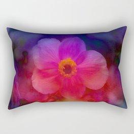 Rainbow Anemone Rectangular Pillow